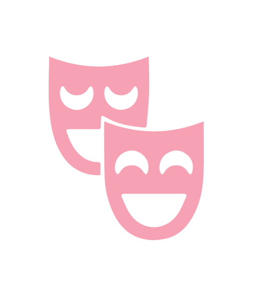 dramatic play faces egg icon