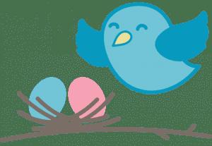bird with nest icon crop